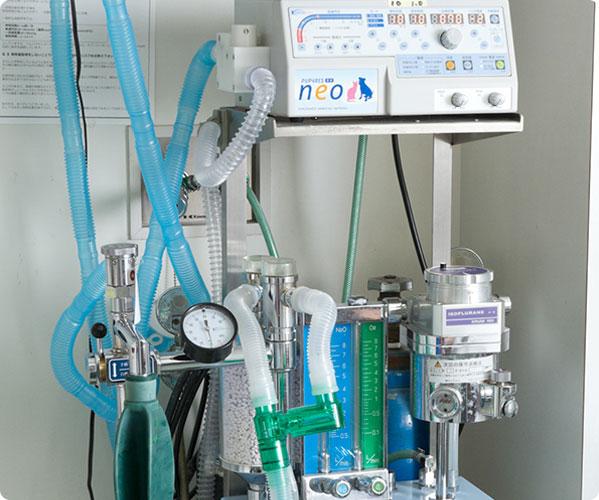 動物用人工呼吸器/全身麻酔器