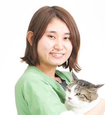 動物看護師 石田千秋